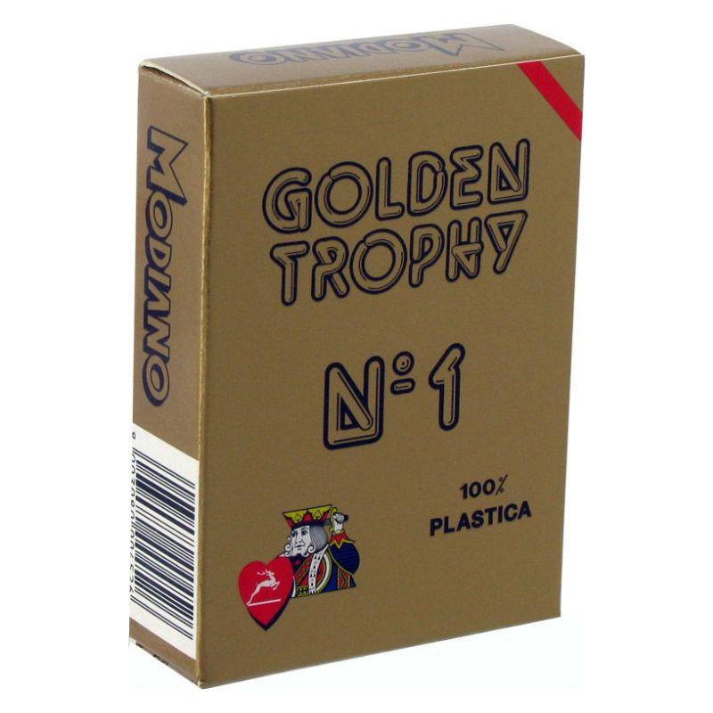 Modiano Τράπουλα Golden Trophy Κόκκινη